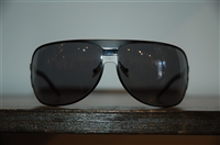 Black Steel Dior Homme Sunglasses, size O/S