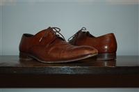 Aged Leather Prada Derby, size 8.5