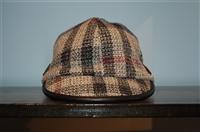 Check Burberry Cap, size M