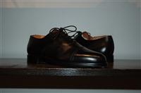 Black Leather Bally Oxford, size 8