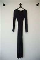 Basic Black Gucci Maxi Dress, size 6