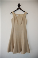 Tan Akris - Punto A-Line Dress, size 4