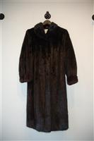 Ebony No Label Coat, size M