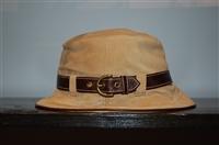 Tan Coach Bucket Hat, size M