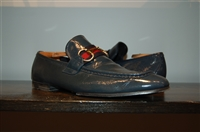 Deep Marine Gucci Loafer, size 8