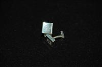 Sterling Silver Tiffany & Co Cufflinks, size O/S