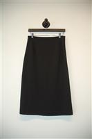 Basic Black Theory Midi Skirt, size 6