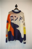 Abstract Print Alexander McQueen - McQ Sweater, size M