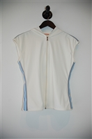 Soft White Prada Sport Sleeveless, size M