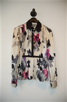 Floral Roberto Cavalli Blouse, size 6