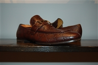 Dark Leather Gucci Loafer, size 8.5