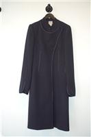 Navy Celine - Vintage Coat, size M