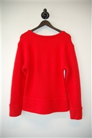 Bright Red Helmut Lang Pullover, size XS