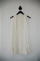 Soft White Diane von Furstenberg Sheath Dress, size 2