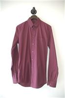 Check Gucci Button Shirt, size S