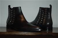 Black Leather Alexander McQueen Ankle Boots, size 10