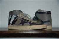 Stone Golden Goose Mid-Top Sneakers, size 10