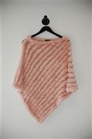 Pale Pink BCBG Maxazria Poncho, size O/S