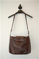 Aged Leather Giudi Shoulder Bag, size M