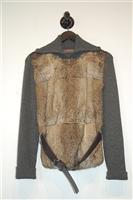 Dark Ash Prada Pullover, size 8