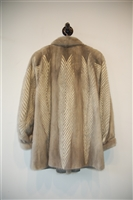 Silver No Label - Vintage Mink Coat, size S