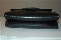 Black Leather Bottega Veneta - Vintage Shoulder Bag, size M