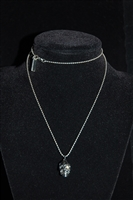 Dark Steel Marc Jacobs Necklace, size O/S