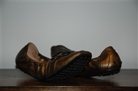 Bronze Tod's Flats, size 8