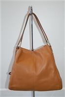 Caramel Coach Shoulder Bag, size M