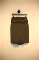 Charcoal BCBG Maxazria Pencil Skirt, size 0