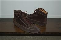 Brown Suede Sutor Mantellassi Sneaker, size 10
