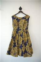 Floral Alice + Olivia A-Line Dress, size 8