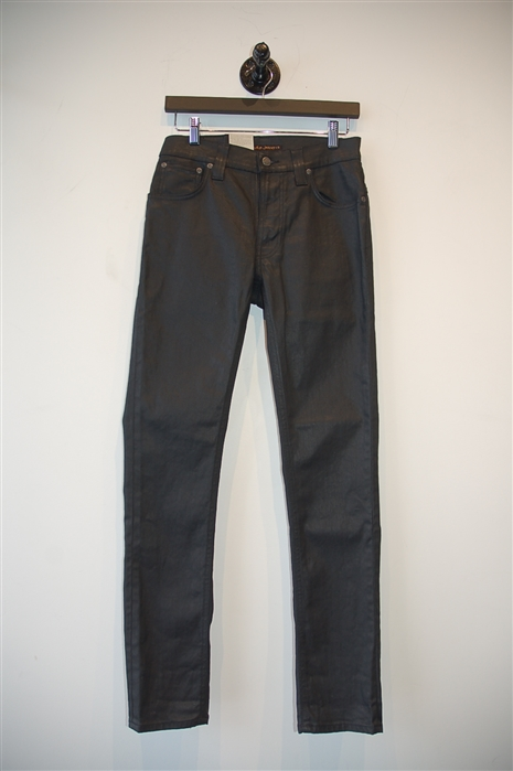 Basic Black Nudie Jeans Denim, size 29
