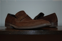 Brown Suede Gucci Loafer, size 8.5