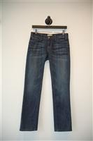 Dark Denim Current / Elliott Slim-leg Jean, size 26