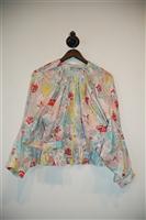 Floral Stella McCartney x Adidas Zippered Jacket, size S