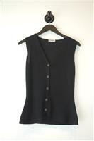 Basic Black Giorgio Armani Vest, size M