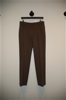Dark Brown Akris - Punto Slacks, size 8