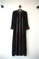Black Velvet Giorgio di Sant?Angelo - Vintage Maxi Dress, size S