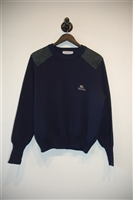 Navy Burberry - Vintage Pullover, size S