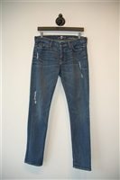 Faded Denim 7 For All Mankind Skinny Jean, size 27