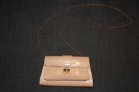 Pale Peach Fendi Evening Bag, size S
