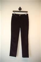 Midnight Blue Alexander McQueen Trouser, size 4
