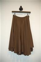 Bronze Gary Graham Circle Skirt, size 4