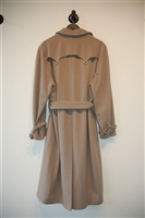Taupe Gianni Versace Couture - Vintage Trench Coat, size L