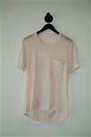 Pale Pink A.L.C. T-Shirt, size S