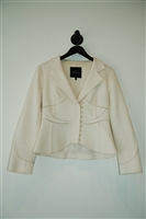 Cream Robert Rodriguez Suit Jacket, size 10