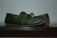Hunter Green Gucci Loafer, size 7