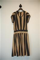 Black & Beige Mercy Day Dress, size 4