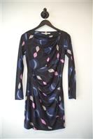 Geometric Diane von Furstenberg Sheath Dress, size 4